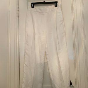 J. Crew Ladies White Pants